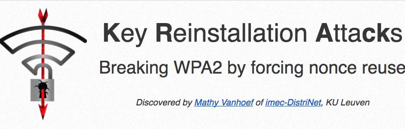 WPA2 kann geknackt werden 😱