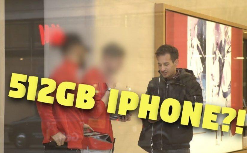 iPhone mit 512gb Speicher