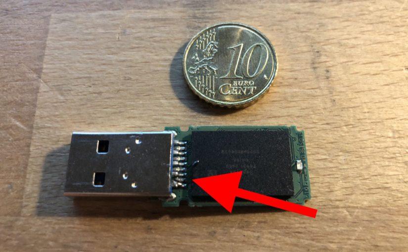 Wie ich einen USB Stick selbst repariert habe