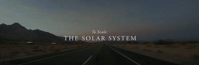 Unser Sonnensystem – im korrekten Verhältnis