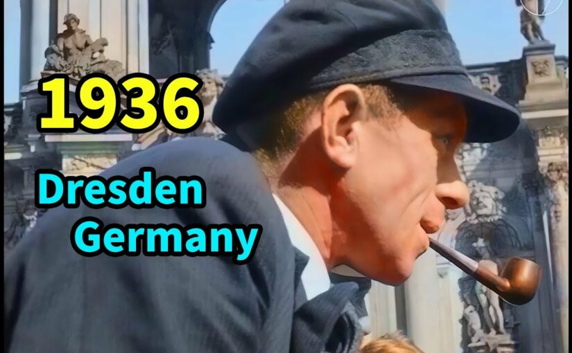 Das schöne Dresden – eine mittles K.I. aufbereitete Doku über Dresden aus dem Jahre 1936
